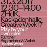 Jessica Walsh: Play by your own rules