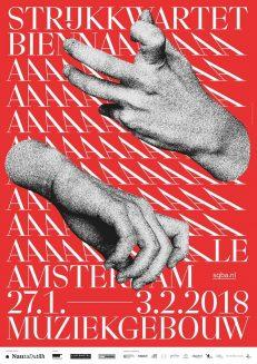 Strijkkwartet Biennale Amsterdam 2018