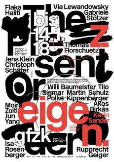 »The Present Order« & »Zeigen«