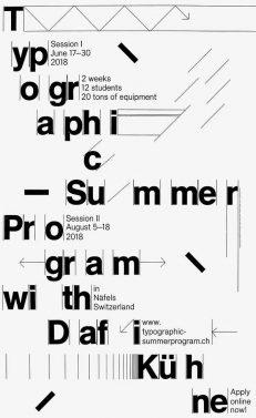 Typographic Summer Program