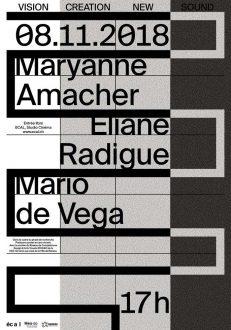 Maryanne Amacher, Eliane Radigue & Mario de Vega