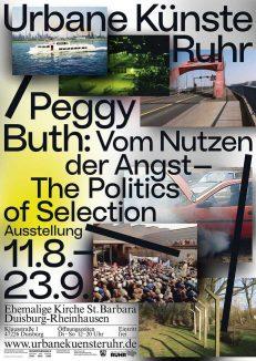 Urbane Künste Ruhr –Peggy Buth: Vom Nutzen der Angst