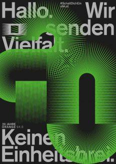 20 Jahre Radio ORANGE 94.0 – Das Freie Radio in Wien