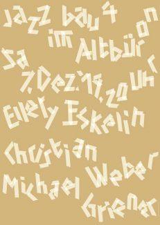 Ellery Eskelin – Christian Weber – Michael Griener