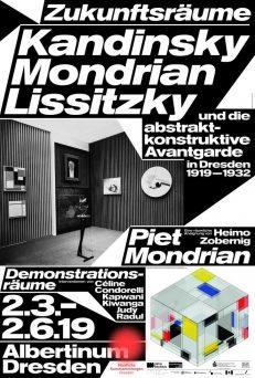 Zukunftsräume. Kandinsky, Mondrian, Lissitzky und die abstrakt-konstruktive Avantgarde in Dresden 1919–1932